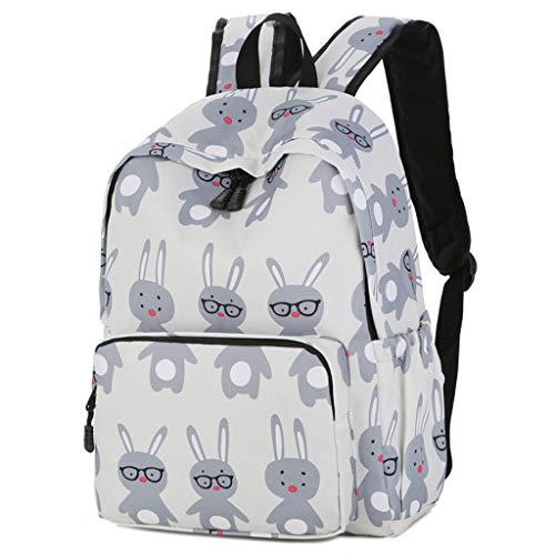 Schulrucksack Schultasche Schulranzen Mädchen Schulrucksack Jugendliche Schulrucksack Sportrucksack Freizeitrucksack Daypacks Backpack für Mädchen Jungen & Kinder - Blau