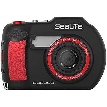 "SeaLife DC2000 Cámara compacta 20MP 1"" CMOS 5472 x 3648Pixeles Negro, Rojo - Cámara digital (20 MP, 5472 x 3648 Pixeles, 1"", CMOS, Full HD, Negro, Rojo)"