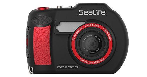 Sealife SL740 DC2000 Unterwasserkamera schwarz/rot