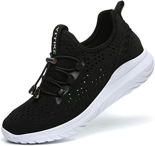 Elaphurus Jungen Sneaker Mädchen Hallenschuhe Outdoor Laufschuhe Turnschuhe für Unisex-Kinder - Mesh-mädchen Training