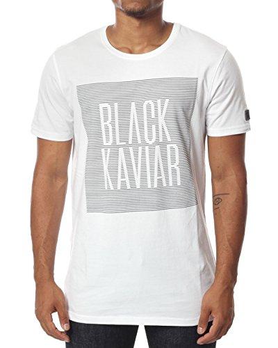 BLACK KAVIAR Herren T-Shirts Kalke KALKE weiß S