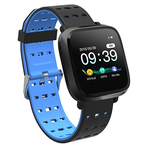 Meatyhjk Y8 IP67 Waterproof Square Smart Watch Bracket Wristband Fitness Activity Tracker for Android iOS Smartwatch Accessories