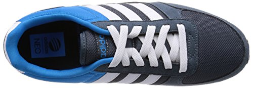 Adidas F97873, Herren Laufschuhe Blau-Grau-Weiß