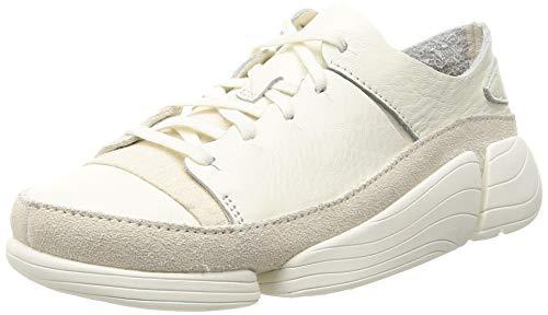 Clarks Originals Trigenic Evo Dress Shoes 38 EU White Leather