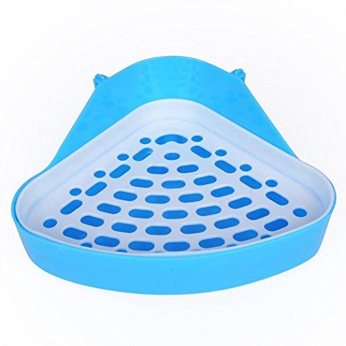 quanjucheer Hamster Kleintier Triangle WC, langlebig Pet Meerschweinchen Kaninchen Pee Ecktoilette für Meerschweinchen