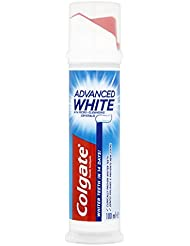 Colgate Advanced White Toothpaste Pump, 100 ml