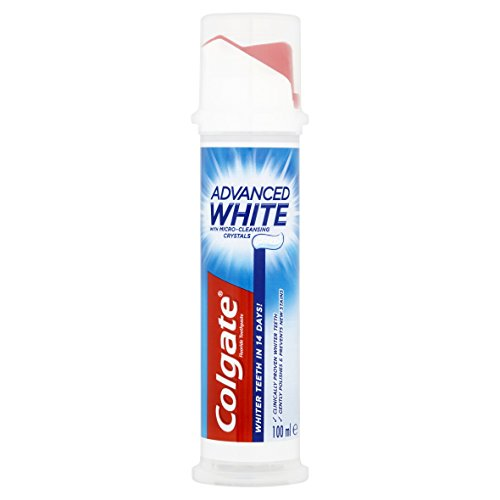 Colgate Advanced Whitening Toothpaste Pump - 100 ml