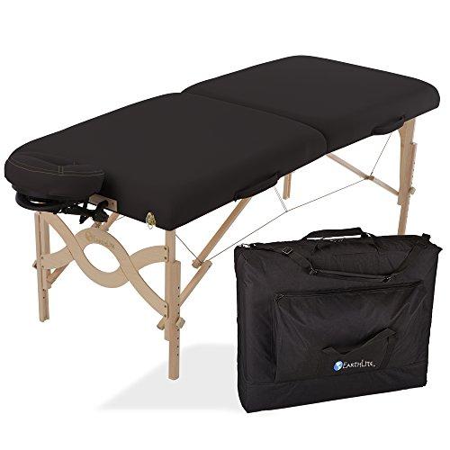 - Tragbare, mobile Massageliege ½ Reiki ½ Standard Endplatten inkl. Flex-Rest Kopfstütze und Tragetasche (Earthlite Massage-kopfstütze)