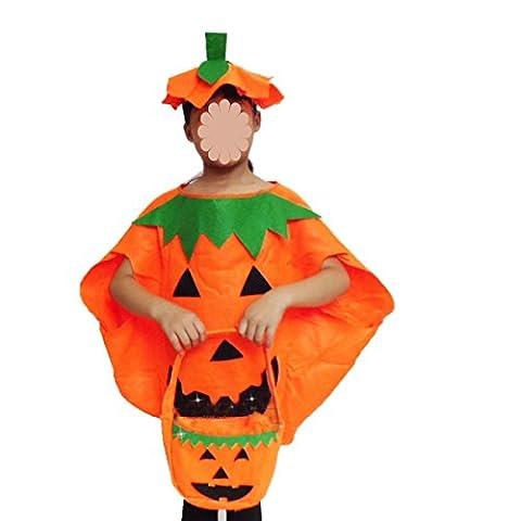 GEXING Costumes D'Halloween Vêtements De Citrouille Pour Enfants Costumes Robe Mascarade Costume De Citrouille