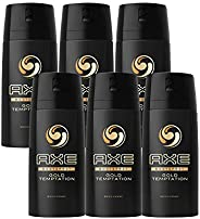 Axe Bodyspray for Men Gold Temptation, 150 ml (4+2)