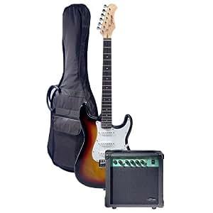 stagg esurf 250 sb uk electric guitar starter pack sunburst musical instruments. Black Bedroom Furniture Sets. Home Design Ideas