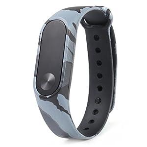 Nuevo patrón de camuflaje pulsera WristBand Pulsera de repuesto Xinan Para Xiaomi MI Band 2 2018 de Xinxinshidai