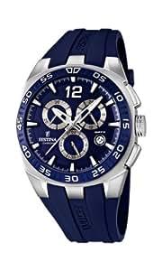 Festina Herren-Armbanduhr XL Sport Chronograph Quarz Kautschuk F16668/2