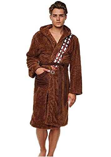 Star Wars Chewbacca Bademantel Fleece Robe braun