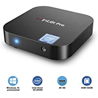 SMALLRT Mini PC,Intel x5-Z8350 HD Graphics Desktop Computer, Windows 10 Pro 64-bit, DDR3L 2GB/32GB eMMC/4K/Built-in Dual WiFi 2.4G /5.0G /BT 4.0