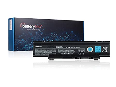 Batterytec® Laptop Battery for TOSHIBA PA3757U-1BRS PABAS213, TOSHIBA dynabook Qosmio T751 T851, TOSHIBA Qosmio F60 F750, TOSHIBA Qosmio F750 3D, TOSHIBA Qosmio F755, TOSHIBA Qosmio F755 3D. [10.8V 4400mAh, 12 Months
