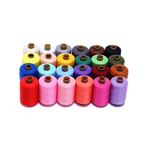 24 carretes de hilo para coser de Candora®