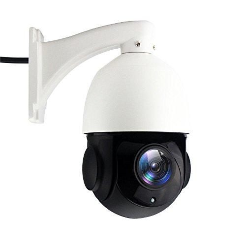 YUCHENG Wlan IP Kamera, Überwachungskamera Außenbereich, 20X optischer Zoom, HD 1080P 2.0MP (1920*1080) PTZ Kamera, Autofokus, Automatische Verfolgung, Motor PTZ Pan Tilt Zoom (Kamera Varifocal Ip 5)