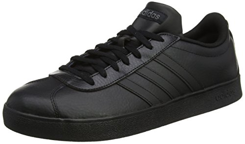 the latest efb0b 87f75 adidas VL Court 2.0, Scarpe da Skateboard Uomo, Nero (Cblackftwwht), 46