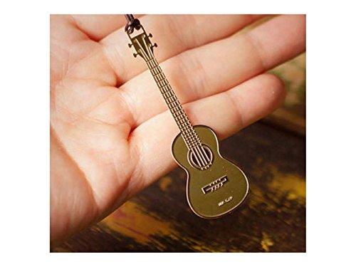 Büro Memo Musikinstrument geformte Metall Lesezeichen Ukulele Instrumente Lesezeichen für Studenten Weihnachtsgeschenke Schüler-Lesezeichen
