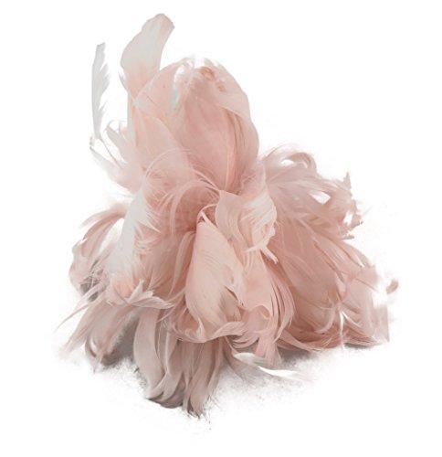 Jessidress Luxus Ibiza Haarblumen Haarblume Haarspangen Haarclip Clips Stirnbänder Barrette Rosa