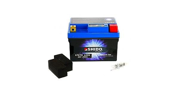 Shido Lithium Ionen Batterie Ytz7s 12 Volt Shido Motorrad Batterie Lifepo4 Li Ytz7s Passend Für Yamaha Yzf R1 1000 2cr1 Rn321 Bj 2015 Preis Ist Inkl Batteriepfand Auto