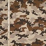 StoffHandwerker Camouflage - Beige - Jersey
