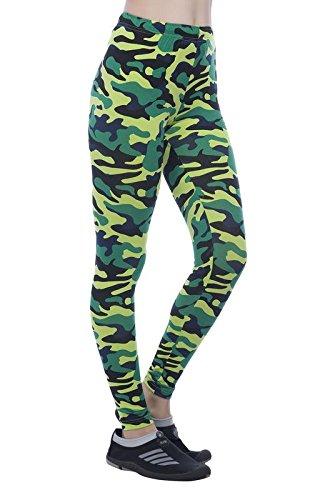 Clifton - Leggings sportivi -  donna lime green