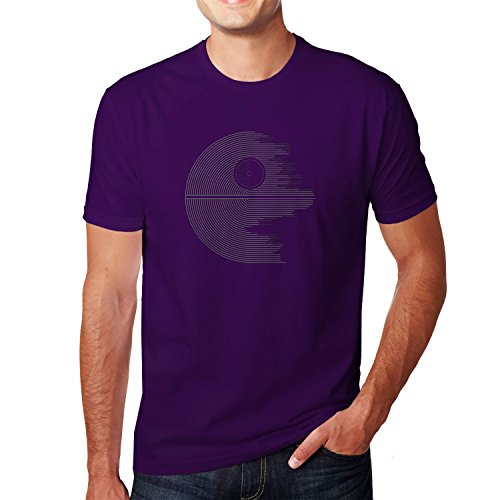 Planet Nerd - Design Star - Herren T-Shirt Lila