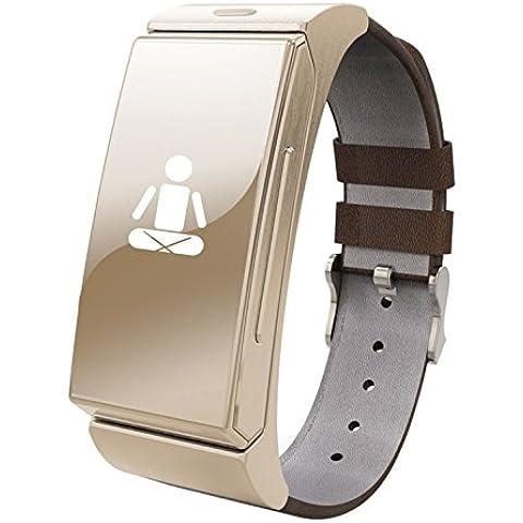 Jiazy bluetooth SmartWatch orologio del monitor di frequenza cardiaca sport chiamare il supporto IOS e Android