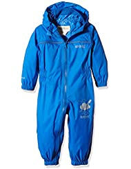 Regatta Children's Puddle IV - Mono infantil impermeable, Niños, color Oxford Blue, tamaño Size 12 - 18