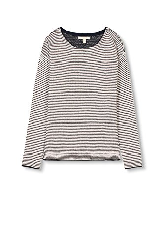 ESPRIT Damen Pullover Mehrfarbig (Off White 110)