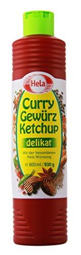 Hela Hela Curry Gewürz-Ketchup delikat - 1 x 800 ml
