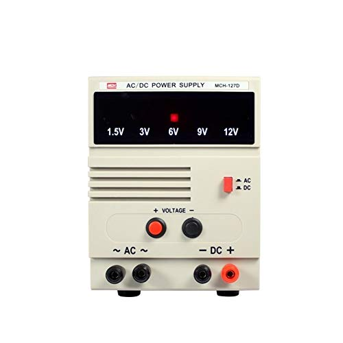 Instrumento de medición de precisión MCH-127D AC DC Fuente De Alimentación Regulada Salida De Voltaje...
