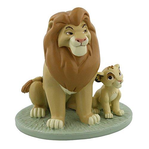 (Disney's magische Momente - Mufasa und Simba - Mein Vater ist der König, König der Löwen - Andenken Figur)