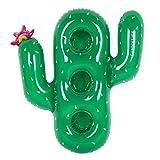 Sunnylife - Soporte para Vasos Hinchable con Forma de Animal para Bebidas, Cactus, Talla única