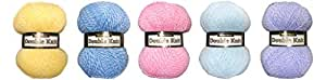 Marriner Summer Bumper Pack | DK Yarn | 5 Balls of assorted colours