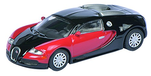 Schuco 452613400 - Bugatti Veyron Fahrzeug, 1:87