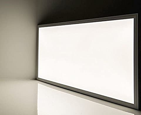 72W Cool White LED Ceiling Panel Flat Tile Panel Downlight 6500k Super Bright 1200 x 600 Premium Quality, 3 Years