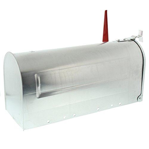 BURG-WÄCHTER, US-Mailbox mit schwenkbarer Fahne, 892 ALU, Massiv Aluminium - 2