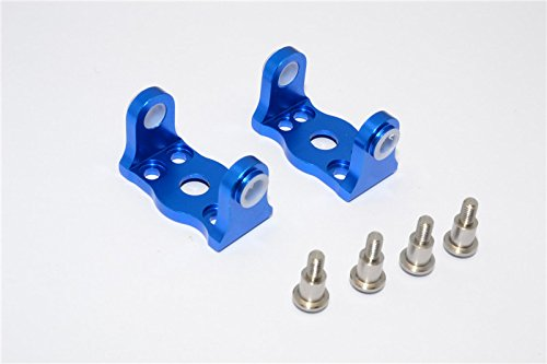 Gmade-Sawback-Upgrade-Parts-Aluminium-Front-C-Hub-With-King-Pin-1Pr-Set-Blue