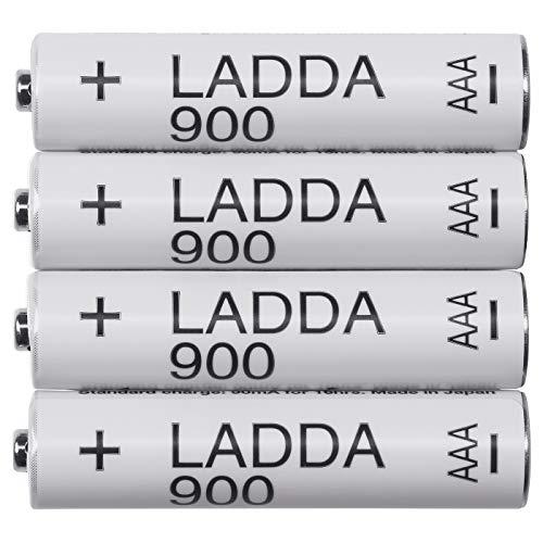 LADDA Akkus aufladbar; 900; HR03 AAA 1.2V; 4 Stück