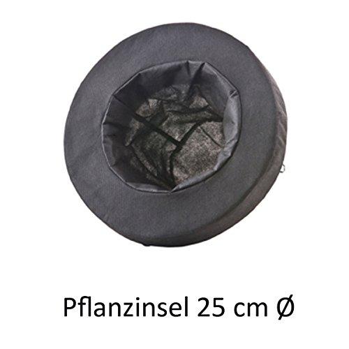 HEISSNER TZ124-00 Schwimmender Pflanzkorb, Octagon, 30 x 30 cm