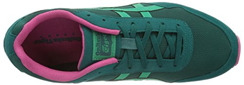 Onistuka Tiger Curreo, Damen Laufschuhe Grün (8088-Shaded Spruce/Emerald)