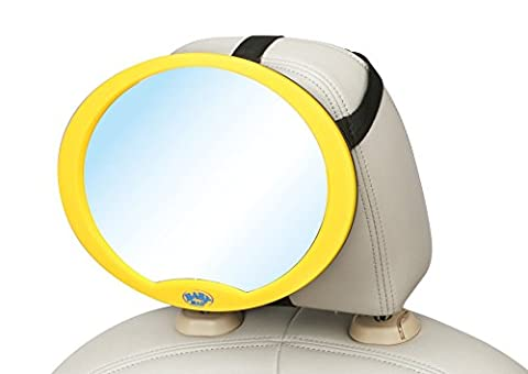 Baby Car Mirror 100% Shatterproof, Ready Assembled, Fully Adjustable, Incredibly Easy to Fit, Anti-Judder Fixing Straps, Quick Install, PREMIUM QUALITY