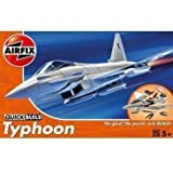Airfix Quick Build Combatiente De La Euro Typhoon Kit De Modelismo