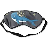 Comfortable Sleep Eyes Masks Obsessed Whale Pattern Sleeping Mask For Travelling, Night Noon Nap, Mediation Or... preisvergleich bei billige-tabletten.eu