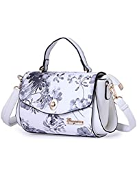 Designer Handbag White Shoulder Purse With Small Pouch Branded Handbags For Her