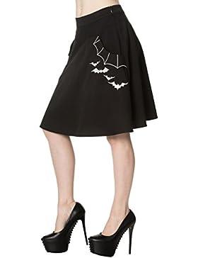 Los párpados prohibido bateo del patinador de la falda - Black / M