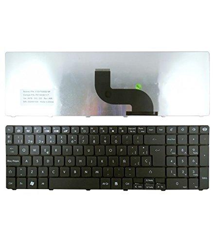 Portatilmovil - Teclado para Packard Bell NEW90 PEW91 NEW95 PEW71 PEW72 PEW76